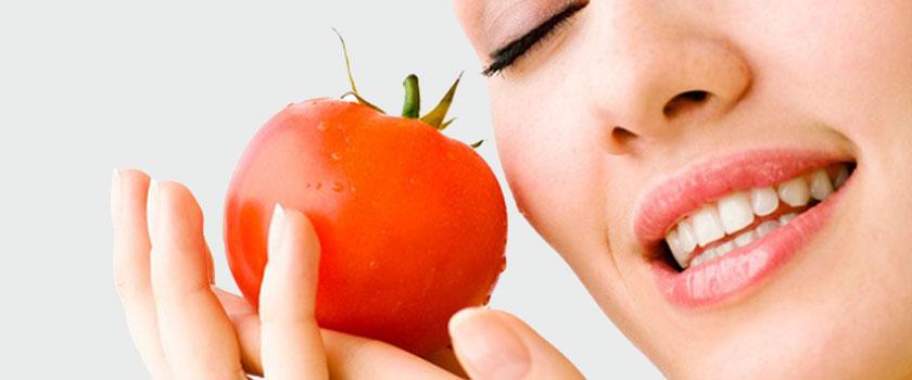 گوجه جوان سازی پوست